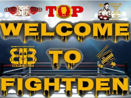 Welcome to Fightden 53 - Carl Dickens