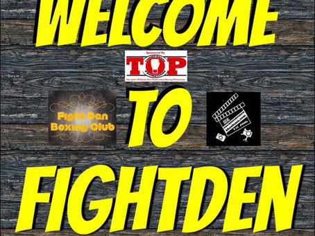 Welcome to Fightden 47 - Dylan Cogan