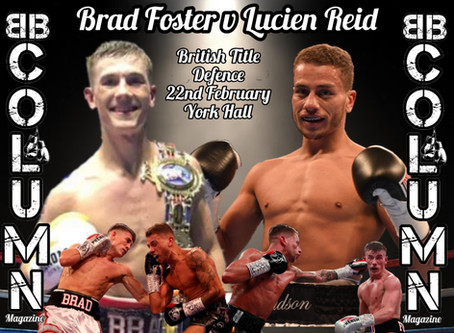 Foster in Rematch against Reid