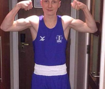 International England Amateur Boxer Scott Melvin