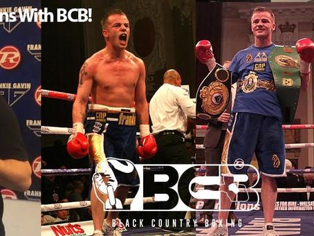 Gavin Joins BCB