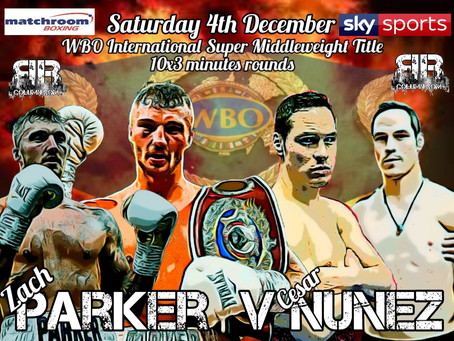 Parker Gets WBO International title Fight