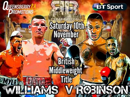 Robinson gets British Title Shot
