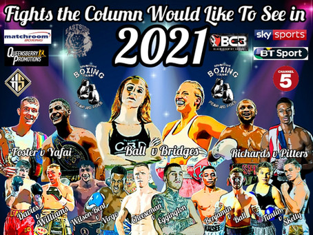 BBColumn's  Fight Wish List 2021