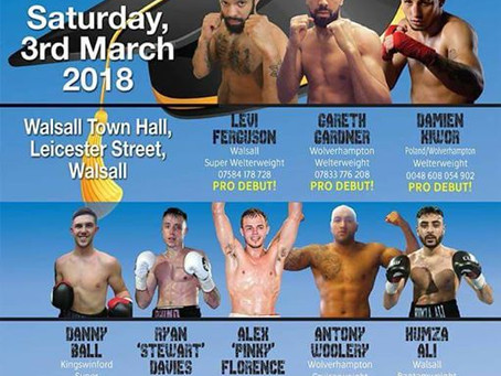 Black country boxing - The Class of 2018