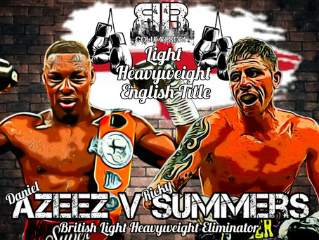 Summers Get's English Title Shot