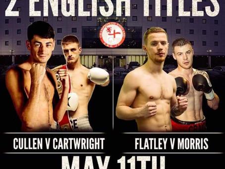 Morris loses English Title Challenge