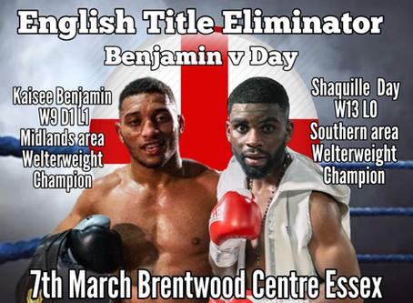 Benjamin gets English Eliminator