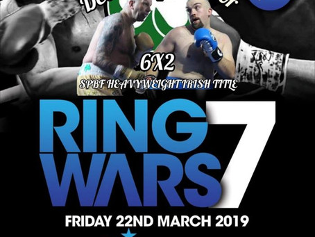 SPBF Irish Title Announcements