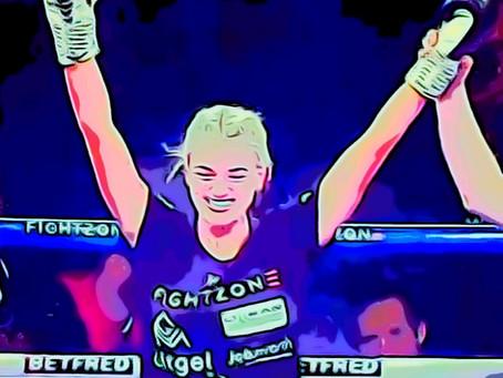 Katie Healy Wins Debut