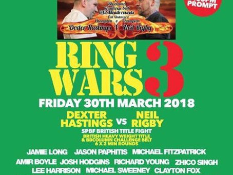 Ring Wars 3 Fightden Interviews