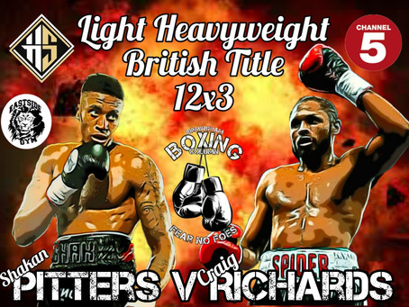 Pitters Stopped in Shock British Title Defeat