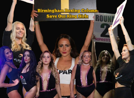 Are we looking at the end of ring girls in boxing open house