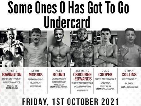 Someone's 0 has got to go BcB Promotions Undercard