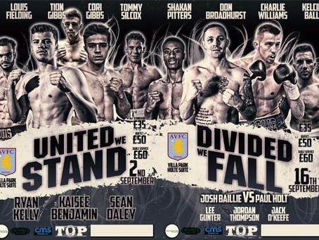 """Tommy Owens Promotions """"United We Stand"""""""