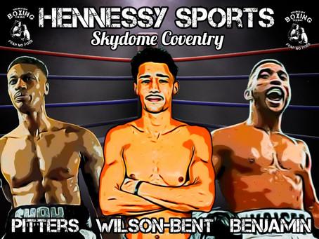 Pitters, Benjamin & Wilson-Bent  Win on Hennessy Undercard