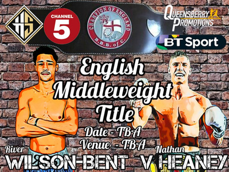 Wilson-Bent v Heaney  Scudule for English Title Clash
