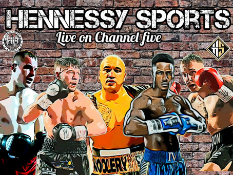 Hennessy Sports Show- Live on Channel 5