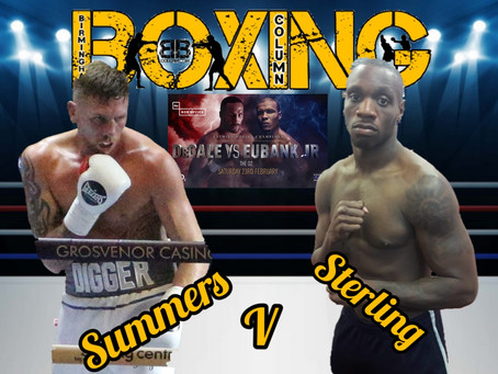 Summers & Sterling Collide in British Light Heavyweight title Eliminator