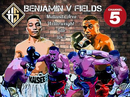 Benjamin wins Midlands title Clash