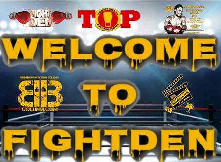 Welcome To Fightden -72 Ben Fields