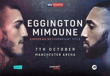 Eggington defends his European Title