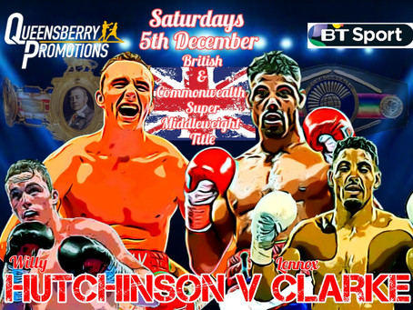 Clarke gets Crack at British & Commonwealth titles