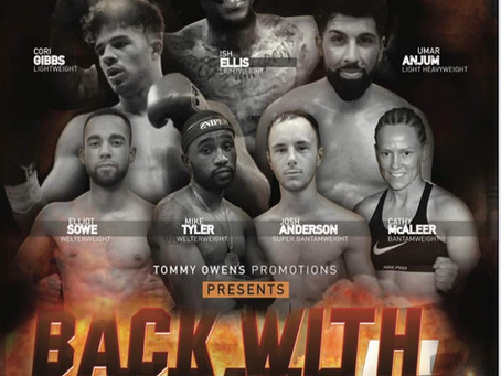 Back With A Bang 2 Tommy Owens Promotions