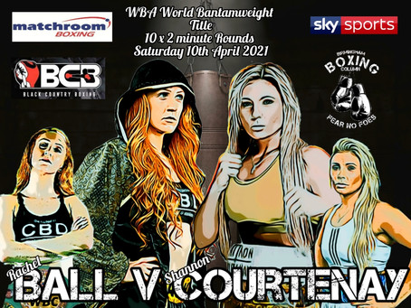 World Title Fight Announced For Ball