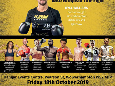 Williams To Fight For WBO Title In Wolverhampton
