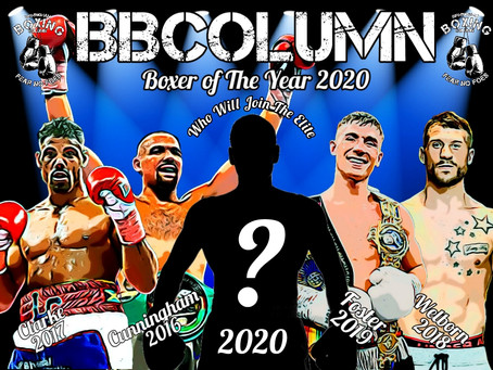 Contenders For The BBColumn Awards 2020