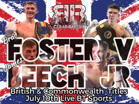 Beech Jr Gets Big Title Shot