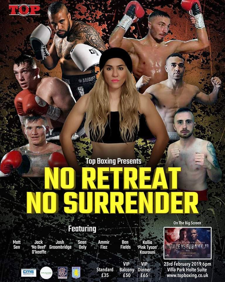 No Retreat No Surrender Tommy Owens Promotions