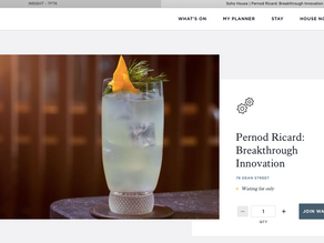 BREAKTHROUGH INNOVATION GROUP PERNOD RICARD