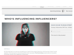 WHO'S INFLUENCING INFLUENCERS?