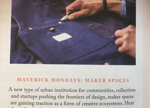 MAVERICK MONDAYS: MAKER SPACES