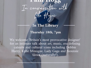 PAM HOGG IN CONVERSATION WITH LIDA HUJIĆ x 2