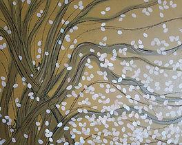 바람을 맞는 기억, Acrylic on canvas, 60.6x72.7c