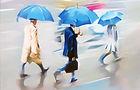 kim dongwook - rainy street 50x72.7 cm o