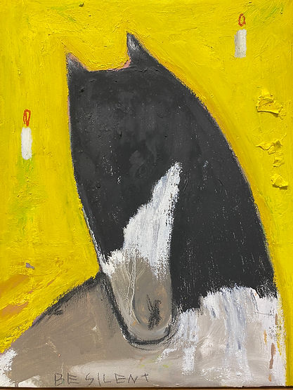 최우 봄의 왕자 3 crayon, oil on Linen 40.9cm x