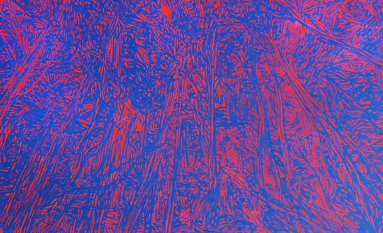 윤세열, 갇힌 공간에 대한 372분간의 드로잉, 72×117 cm, 캔버