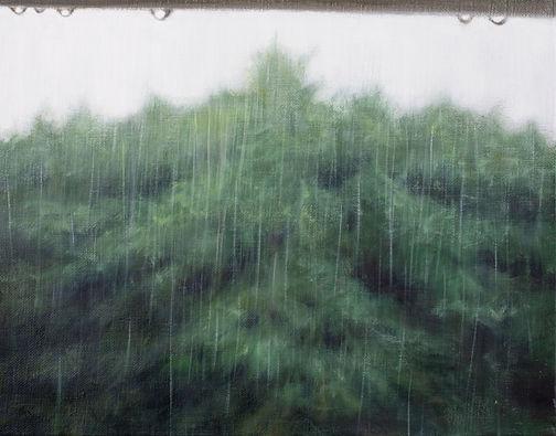 창(Window) 27.3x34.8cm oil on canvas 2020