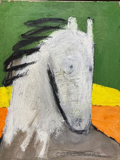 최우 봄의 왕자 2 crayon, oil on Linen 40.9cm x