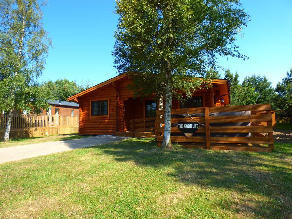 Good life Log Cabin