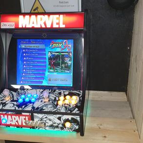 Retro arcade games