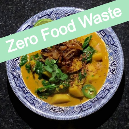 ZFW: Potato and Spinach Curry