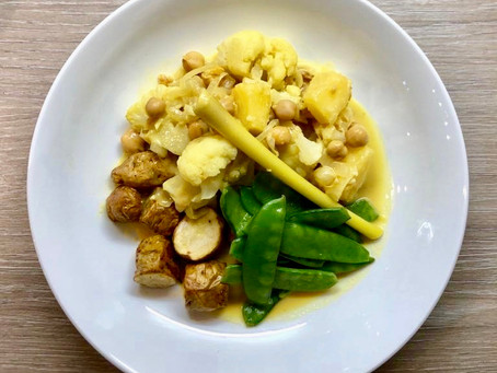 Peanutter Pineapple Curry
