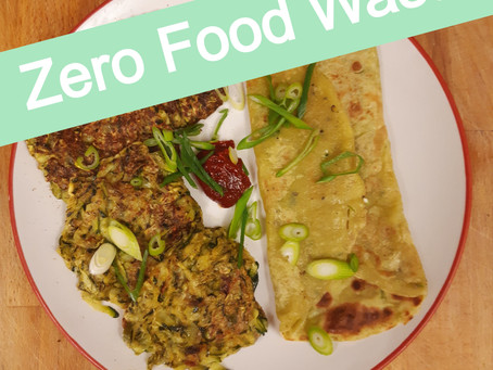 ZFW: Courgette fritters and pancakes