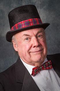 Jim Gurr with Gumshoe Mysteries, London, Ontario, murder mystery dinner theatre