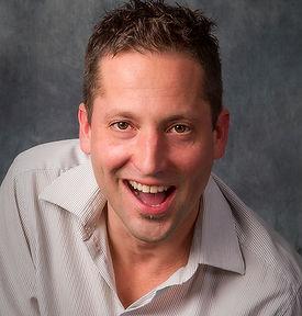 Scott Rawson with Gumshoe Mysteries, London, Ontario, murder mystery dinner theatre